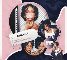 PACK PNG 806 RIHANNA by MAGIC-PNGS