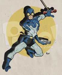 Blue Beetle by jonpinto