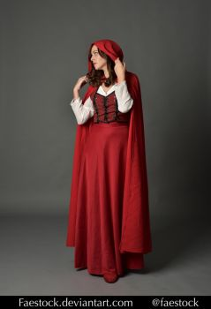 Red riding hood  - Stock model reference 3 by faestock