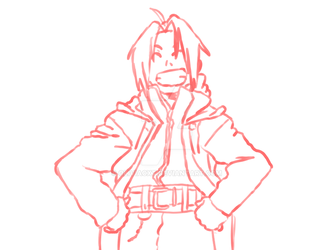 Edward Elric by OliviaCxt