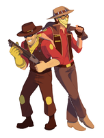 Cowboy Fortress by NuclearBandaid
