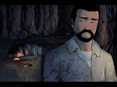 The Walking Dead (SPOIL) by LuckyXClover