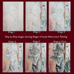 Koala WWM - Step by Step Painting Process by Harmony1965