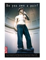 statue of david - levis ad by zxcxvxc