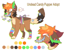 Undead Candy Pupper Adopt *CLOSED* by FUDANSHl