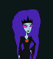 Queen Of The Black Puddle by Redspets