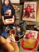 Party 2 with wreck it ralph cake!! by MarioFan4