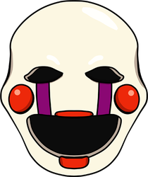 Five Nights at Freddy's Puppet shirt design by kaizerin