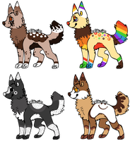Dessert Themed Canine Auctions -CLOSED- by ReedAdopts