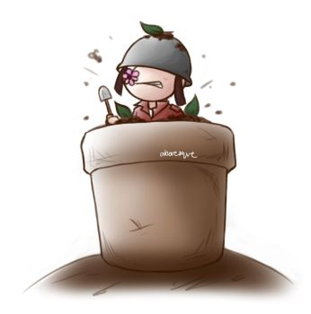 [Team Fortress 2] Mercs In Pots: 2 by abaresque