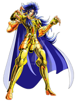 Saint Seiya saga gold saint playstation 3 by hadesama01