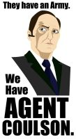 Agent Coulson Poster by TheNoirGuy