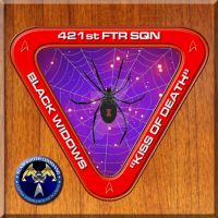 Starfleet's 421st Fighter Squadron. Black Widows by StalinDC