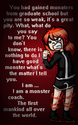 I am a Monster ... Coach. by PuccaNoodles2009