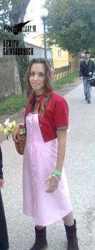 Aerith in Lucca by Hesperantia