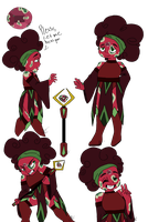 SUOC: Fuchsite Ruby (Partner Looking/Call?) by AnglaFireFlare
