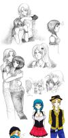 :TC: September doodle batch by alexis-the-angel