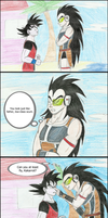 Goku's Attempt to Troll by LarslovesJames