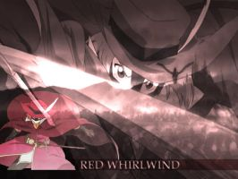 Red Whirlwind Odin X Juliet by ReflectionArtist