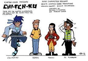 Chi-Fen-Ku (2007-2015) by MDKartoons