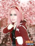 Alternative version-Sakura Haruno cosplay by 20Tourniquet02