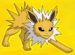Jolteon by Autumn-Blizzard-Fang