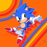 Sonic the Hedgehog by balitix