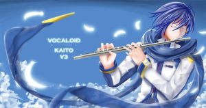 Request Arara08: Kaito from Vocaloid by Grooth