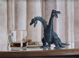Still Life with Toy Monster by hank1