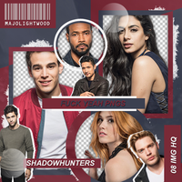 Pack Png: Shadowhunters Cast #426 by MockingjayResources