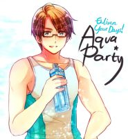 Aqua Party by Cioccolatodorima