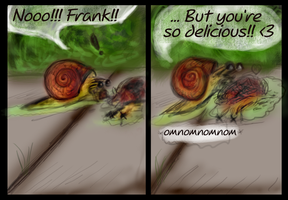 Frank is delicious... by KichisCrafts