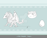 Critter Adoptable - Dragon SOLD by Asgard-Chronicles