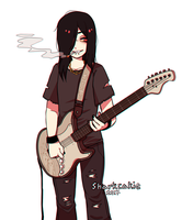 smash ur guitar over my head and kill me instantly by sharkcakie