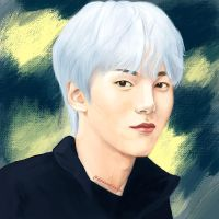 Monsta X Minhyuk by drawnatdawn