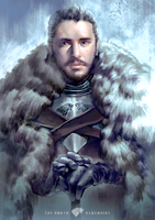 Jon Snow by Hooooon