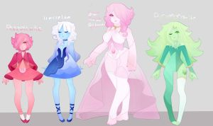 Steven universe Gemsona adopts CLOSED by sounds-like-balloons