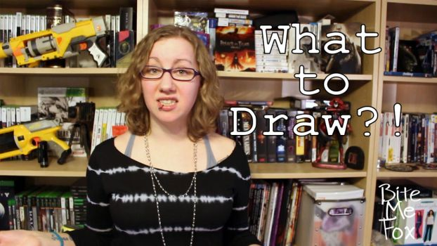 YouTube Drawing Prompt Intro by BiteMeFox