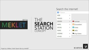Meklet - The Search Station | BETA by Softboxindia