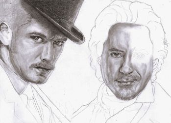 Watson and Holmes WIP 2 by S-y-c
