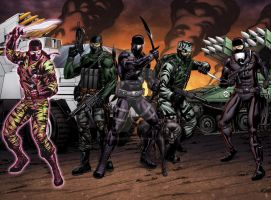 G.I.JOE Frontline Round 2 by spidermanfan2099