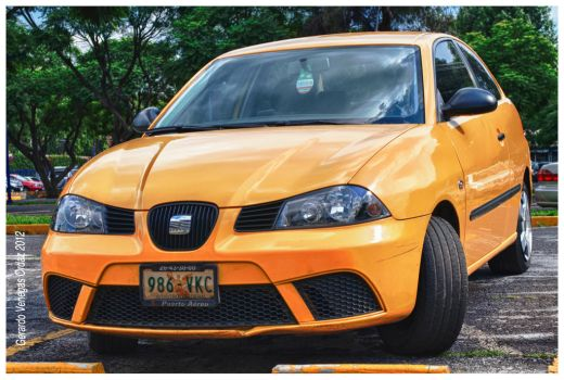 Yellow Car by Gerry-Lee