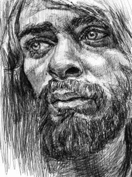 Portraits of the homeless: man from London by KingVahagn