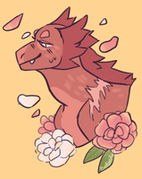 Stop to smell the roses  by Mothfoxx