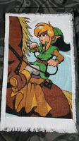 legend of Zelda Link and Epona Cross Stitch by prophet1991