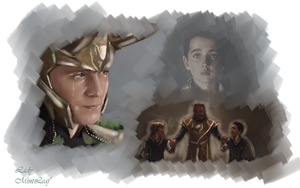 Loki  remember when... by LadyMintLeaf