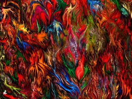 Colorful abstract by RT3D