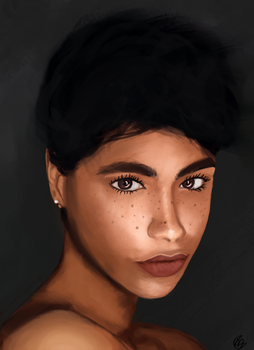 Woman Color Study #2 by MFFchaos