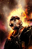 Ghost Rider Grin by scarypet