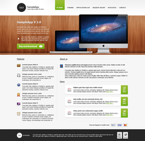 Freebie PSD MacApp Template by JakubSpitzer